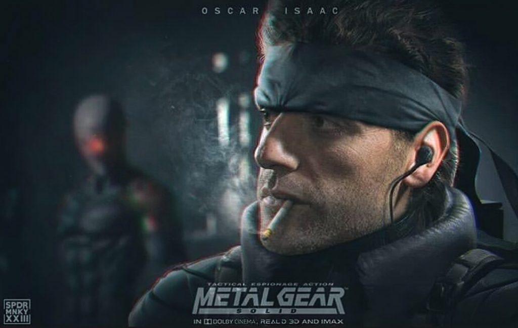 Ilustração não oficial do filme Metal Gear Solid