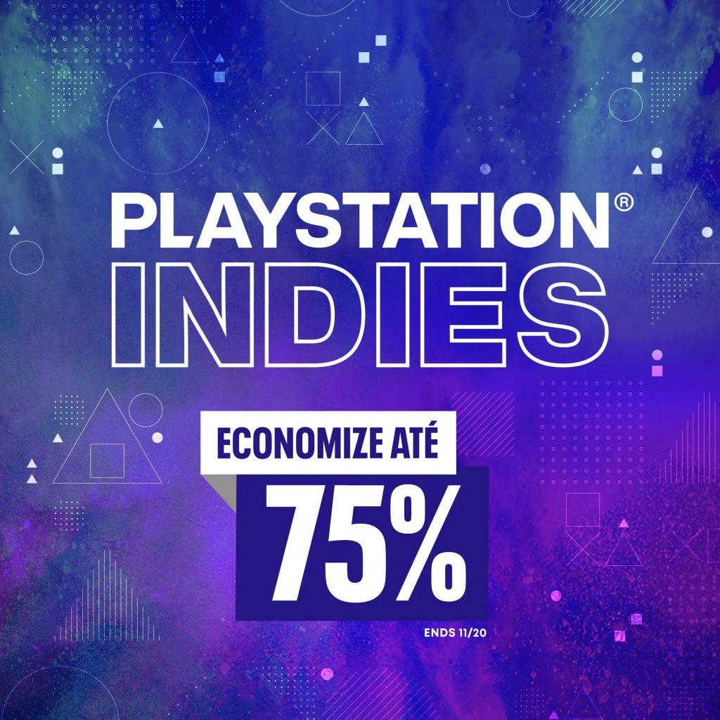 Ilustração das ofertas da PlayStation Indies